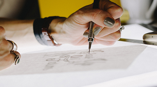 Illustration Création de logos